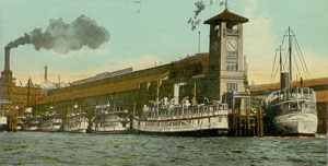 Colman Dock - Seattle -1912