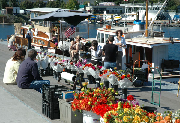 Farmboat Floating Market at Lake Union Park October 6th 2010