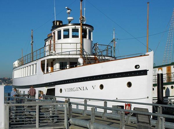 Steamship Virginia V at Lake Union Park