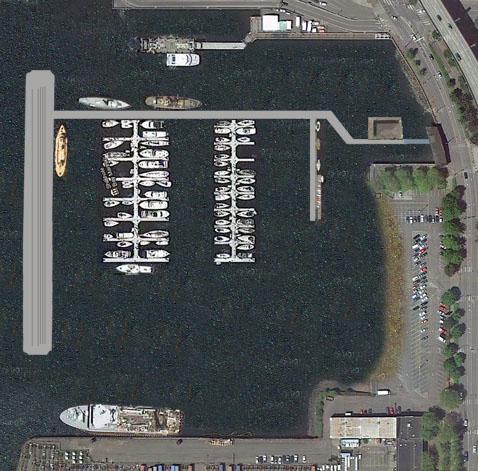 Washington St. Landing and Marina Concept